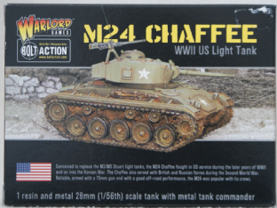 Warlord Games 28mm WGB-AI-117 M24 Tank 'Chaffee'